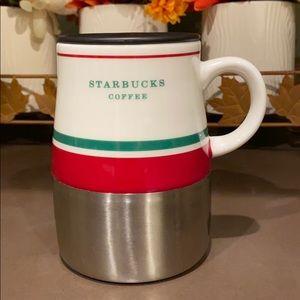 Starbucks travel coffee mug Christmas 2006